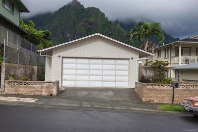 Kaneohe Single Family Home For Sale: 45-443 Lolii Street