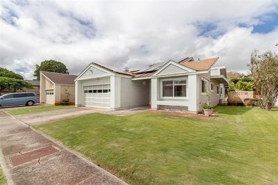 Waipahu Single Family Home For Sale: 94-1010 Eleu Street