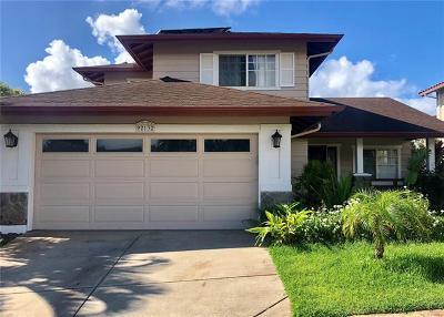 Kapolei Single Family Home For Sale: 92-132 Hihialou Place