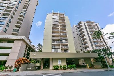 Condo/Townhouse For Sale: 440 Lewers Street #1001