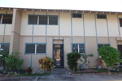 Ewa Beach Condo/Townhouse For Sale: 91-613 Kilaha Street #73