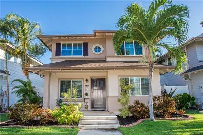 Ewa Beach Single Family Home For Sale: 91-1045 Kai Loli Street