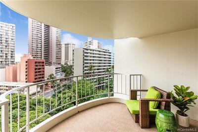 Honolulu Condo/Townhouse For Sale: 469 Ena Road #1007