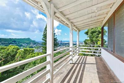 Honolulu Single Family Home For Sale: 2542 Pacific Hts Place