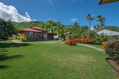 Kailua Single Family Home For Sale: 1427 Aalapapa Drive