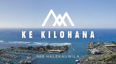 Honolulu Condo/Townhouse For Sale: 988 Halekauwila Street #3010