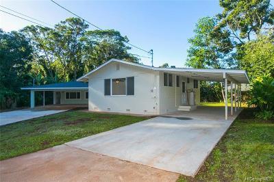Wahiawa Multi Family Home For Sale: 2127 California Avenue #A,B,C,D,