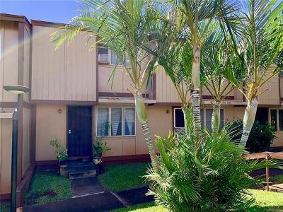 Honolulu County Condo/Townhouse For Sale: 98-1381 Hinu Place #F