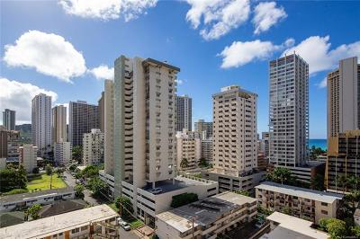 Honolulu Condo/Townhouse For Sale: 2410 Cleghorn Street #1402
