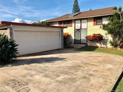Honolulu Single Family Home For Sale: 1650 Piikea Street