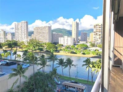 Honolulu County Condo/Townhouse For Sale: 445 Kaiolu Street #909