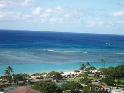 Honolulu Condo/Townhouse For Sale: 1350 Ala Moana Boulevard #2107