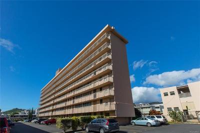 Honolulu County Condo/Townhouse For Sale: 1403 Makiki Street #B805