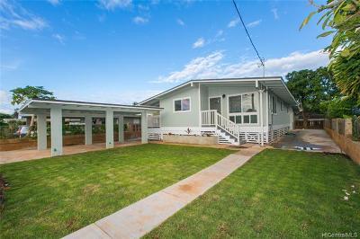 Waianae HI Single Family Home For Sale: $490,000