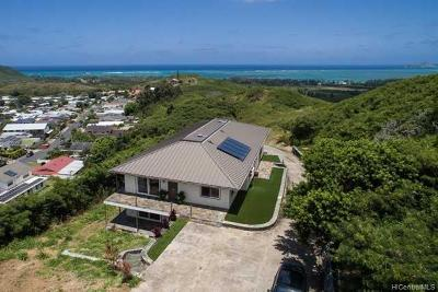 Kailua Single Family Home For Sale: 1314 Noninui Place