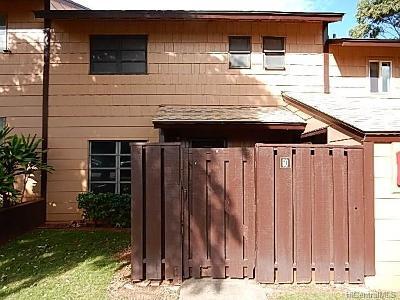 Honolulu County Condo/Townhouse For Sale: 92-1335 Panana Street #60