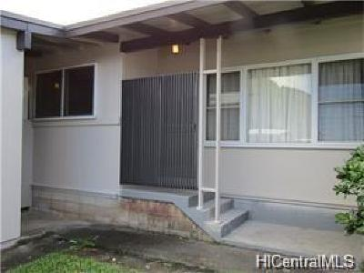 Honolulu County Single Family Home For Sale: 3175 Poelua Place