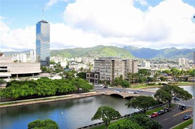 Honolulu Condo/Townhouse For Sale: 1717 Ala Wai Boulevard #1004