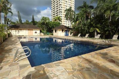 Honolulu County Condo/Townhouse For Sale: 1060 Kamehameha Highway #2701B