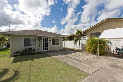 Kailua HI Single Family Home For Sale: $875,000