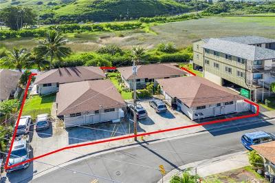 Multi Family Home For Sale: 703 Kihapai Place