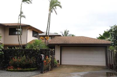Honolulu County Single Family Home For Sale: 47-106 Pulama Road