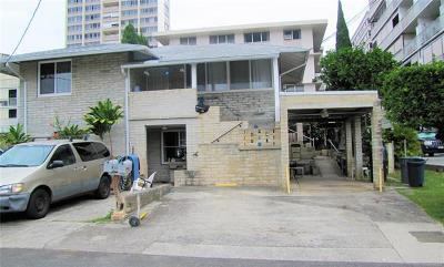 Honolulu HI Multi Family Home For Sale: $1,590,000