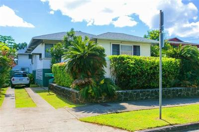 Honolulu Single Family Home For Sale: 2359 Dole Street