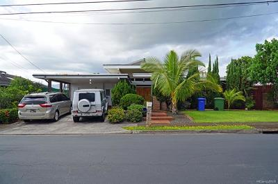 Pearl City Single Family Home For Sale: 1321 Kaweloka Street