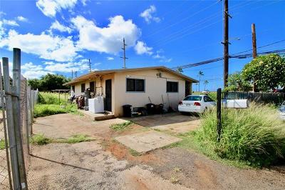 Waianae Multi Family Home For Sale: 87-105 Mana Street