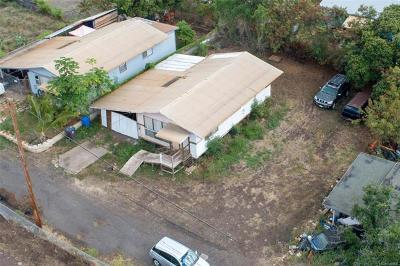 Waianae HI Single Family Home For Sale: $275,000