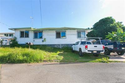 Waipahu Single Family Home For Sale: 94-317 Hilihua Way