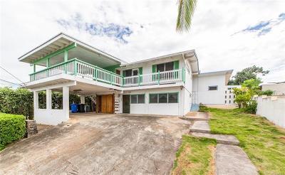 Honolulu HI Single Family Home For Sale: $875,000