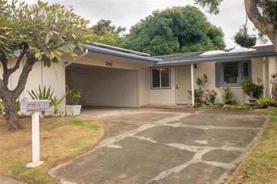 Honolulu HI Single Family Home For Sale: $899,000