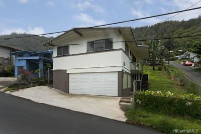 Honolulu Single Family Home For Sale: 1590 Violet Street