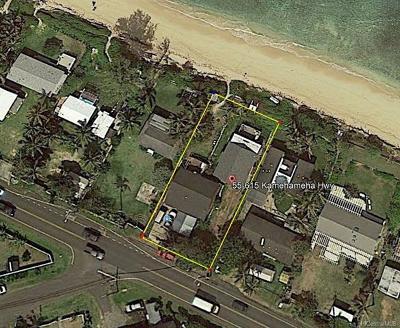 Single Family Home For Sale: 55-615 Kamehameha Highway