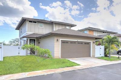 Central Oahu, Diamond Head, Ewa Plain, Hawaii Kai, Honolulu County, Kailua, Kaneohe, Leeward Coast, Makakilo, Metro Oahu, N. Kona, North Shore, Pearl City, Waipahu Single Family Home For Sale: 1101 Kukulu Street #18