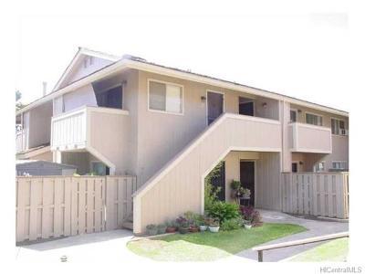 Central Oahu, Diamond Head, Ewa Plain, Hawaii Kai, Honolulu County, Kailua, Kaneohe, Leeward Coast, Makakilo, Metro Oahu, N. Kona, North Shore, Pearl City, Waipahu Rental For Rent: 94-1031 Kaukahi Place #G-8