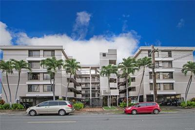 Honolulu Condo/Townhouse For Sale: 825 Coolidge Street #307