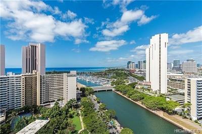 Honolulu, Kailua, Waimanalo, Honolulu, Kaneohe Rental For Rent: 1551 Ala Wai Boulevard #1204