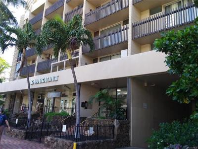 Honolulu Condo/Townhouse For Sale: 1911 Kalakaua Avenue #609