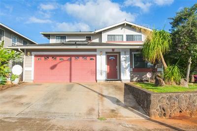 Waipahu Single Family Home For Sale: 94-1013 Kaiamu Street