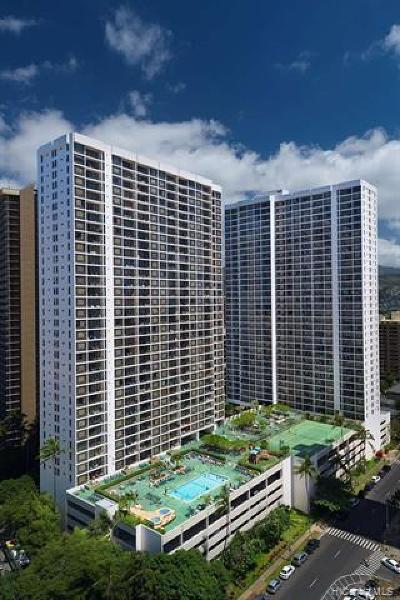 Hawaii County, Honolulu County Condo/Townhouse For Sale: 201 Ohua Avenue #3706