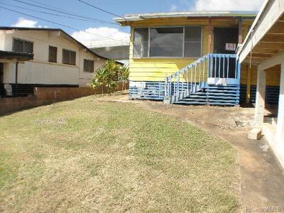 Waipahu Single Family Home For Sale: 94-1140 Awaiki Place