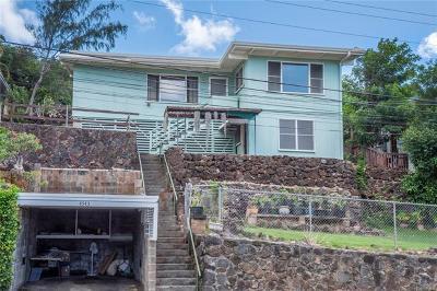 Honolulu Single Family Home For Sale: 4543 Malia Street