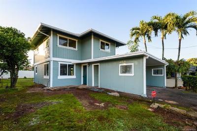 Single Family Home For Sale: 1213 Kaala Avenue