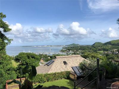 Kaneohe Single Family Home For Sale: 44-108 Puuohalai Place
