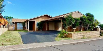Kapolei Single Family Home For Sale: 92-1015 Kanehoa Loop