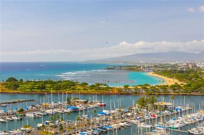 Hawaii County, Honolulu County Condo/Townhouse For Sale: 1777 Ala Moana Boulevard #2435