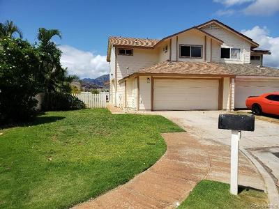 Waianae Single Family Home For Sale: 87-428 Kulahanai Street